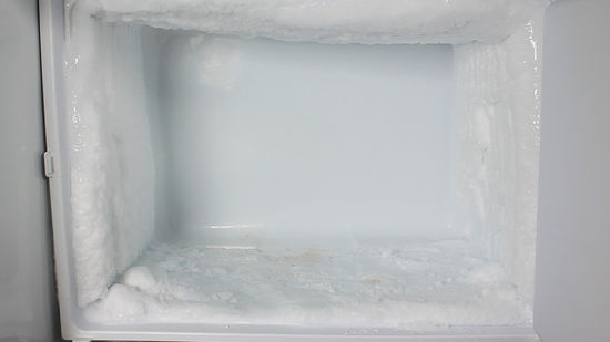 Frost in the freezer