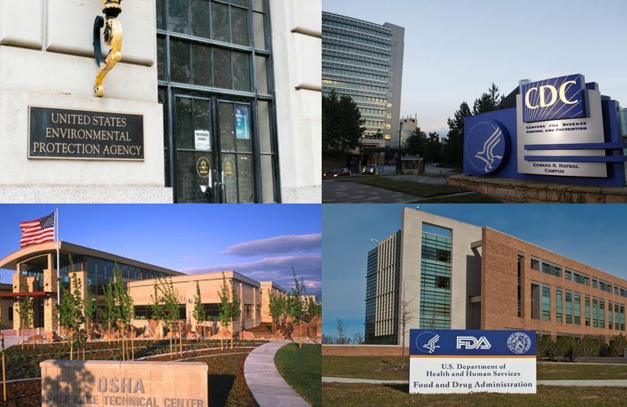 Buildings of regulatory departments