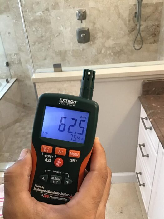 Thermo-hygrometers testing relative humidity and room temperature