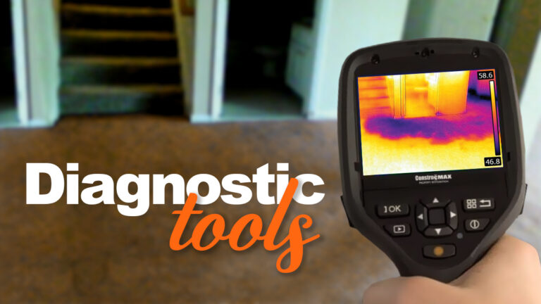 Water Damage Series – Part 6: Diagnostic Tools